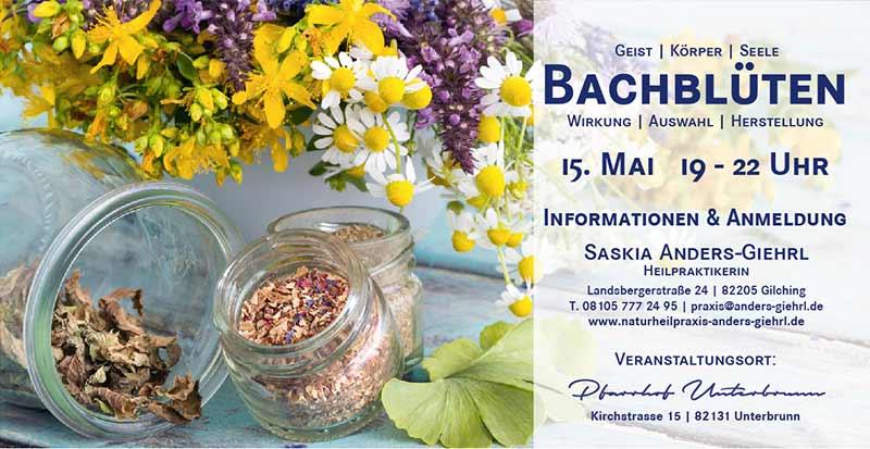 Saskia Anders-Giehrl - Seminar Bachblüten